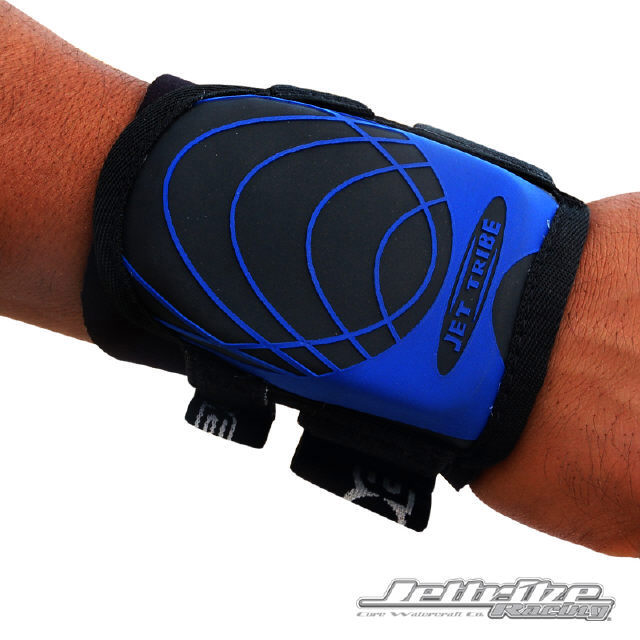 JTG11444-BB Jettribe Wrist Guard Black/Blue - Each