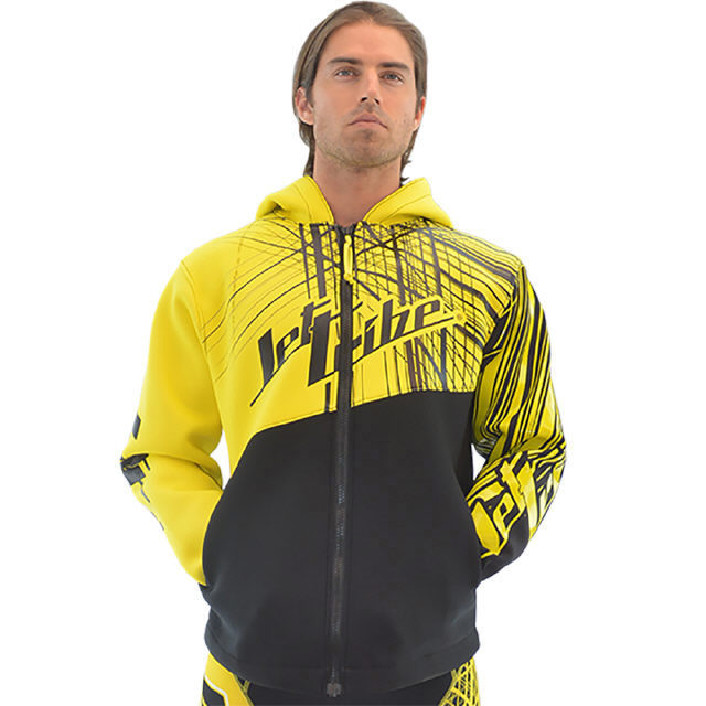 JETTRIBE TOUR COAT SPIKE - YELLOW PWC JETSKI RIDE & RACE GEAR S-2XL