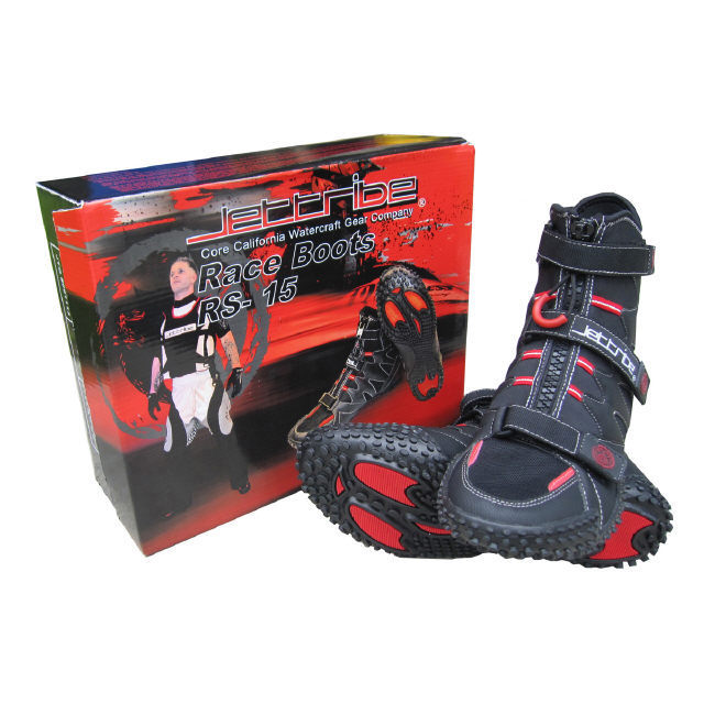Jettribe Gecko RS-15 Jetski PWC Wet Race Boots / Shoes Sizes 7-13
