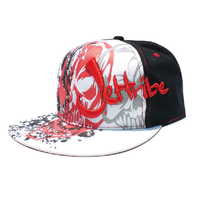 Jettribe Red Skull Hat Small-XLarge