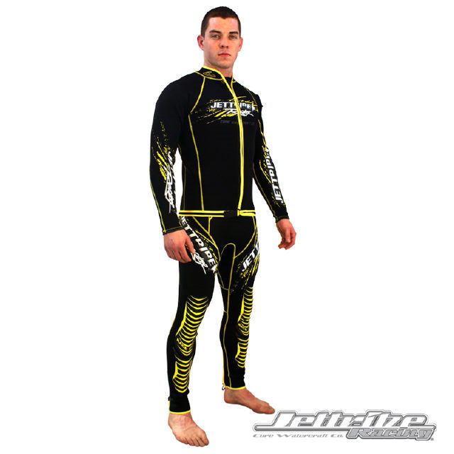 JTG 12470-Y All Star John/Jacket Wetsuit Black/Yellow S-2XL