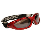 Jettribe Jet Ski  PWC Red Frame / Smoke Lens Riding Goggles